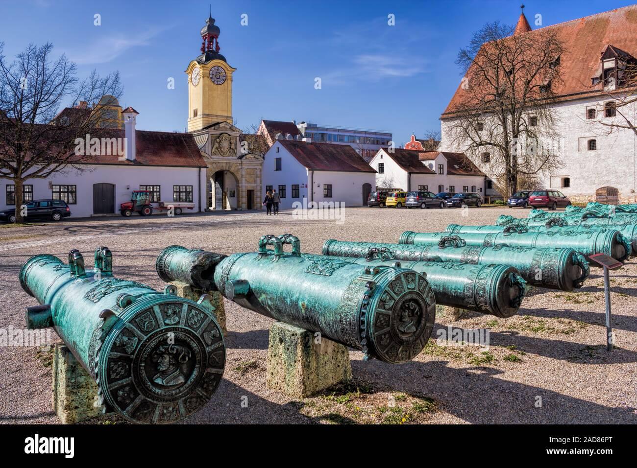 Ingolstadt, New Palace Stock Photo