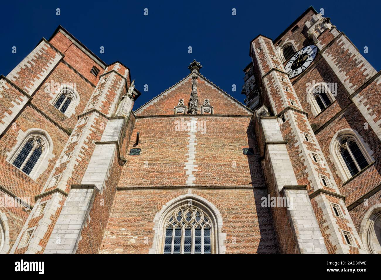 Ingolstadt Cathedral Stock Photo