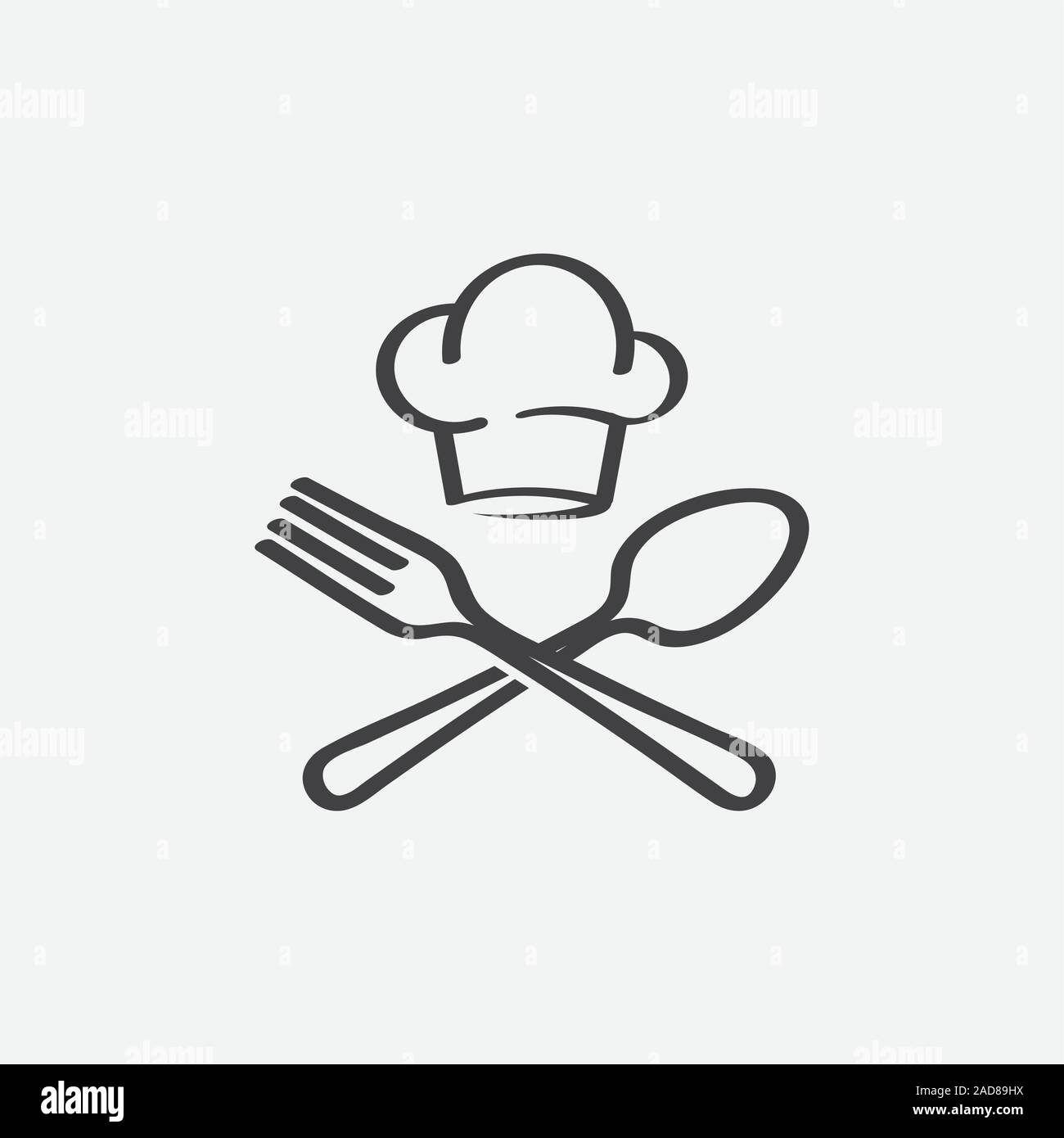 Chef Logo High Resolution Stock Photography And Images Alamy