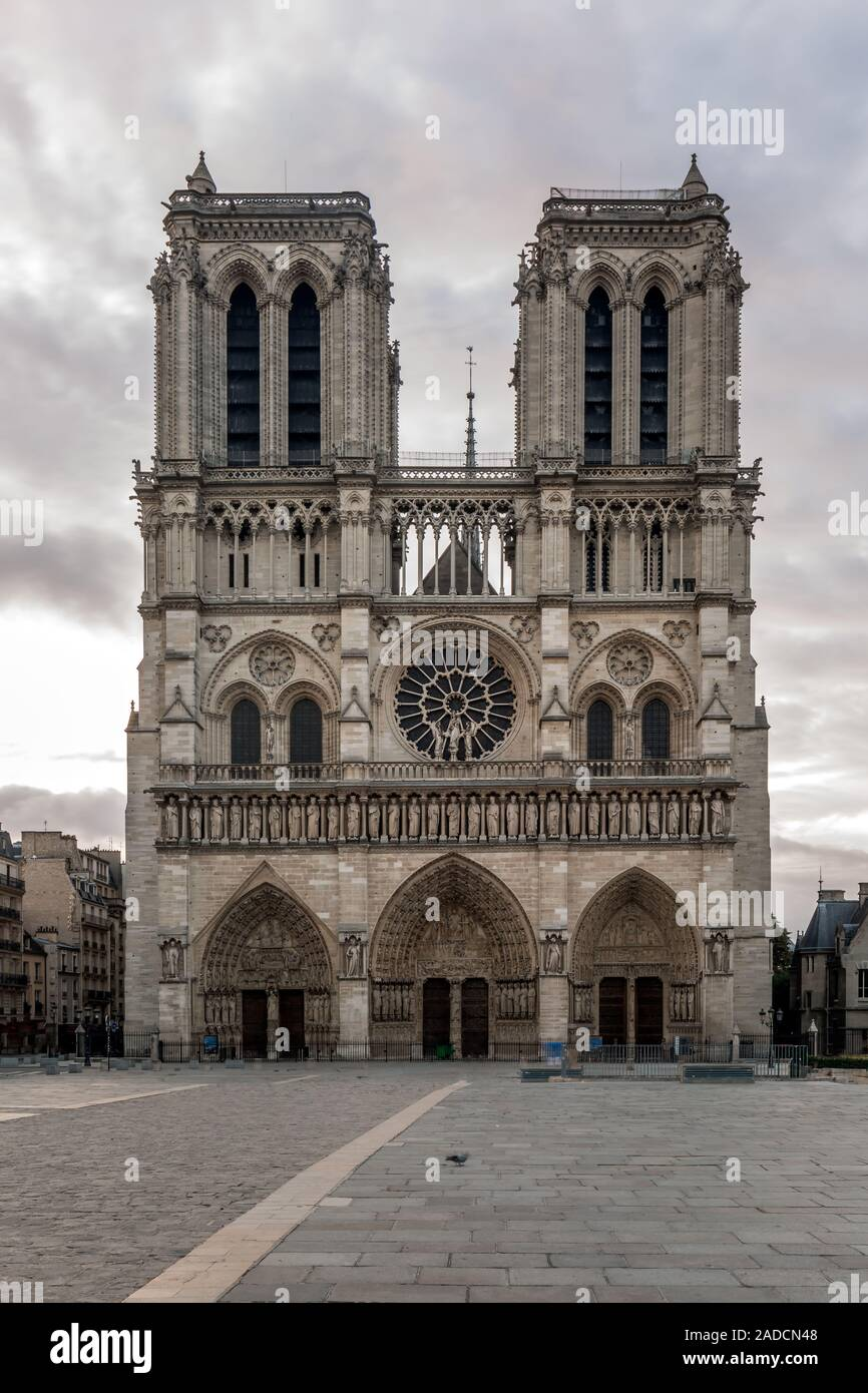 Notre Dame de Paris Cathedral before fire, most beautiful