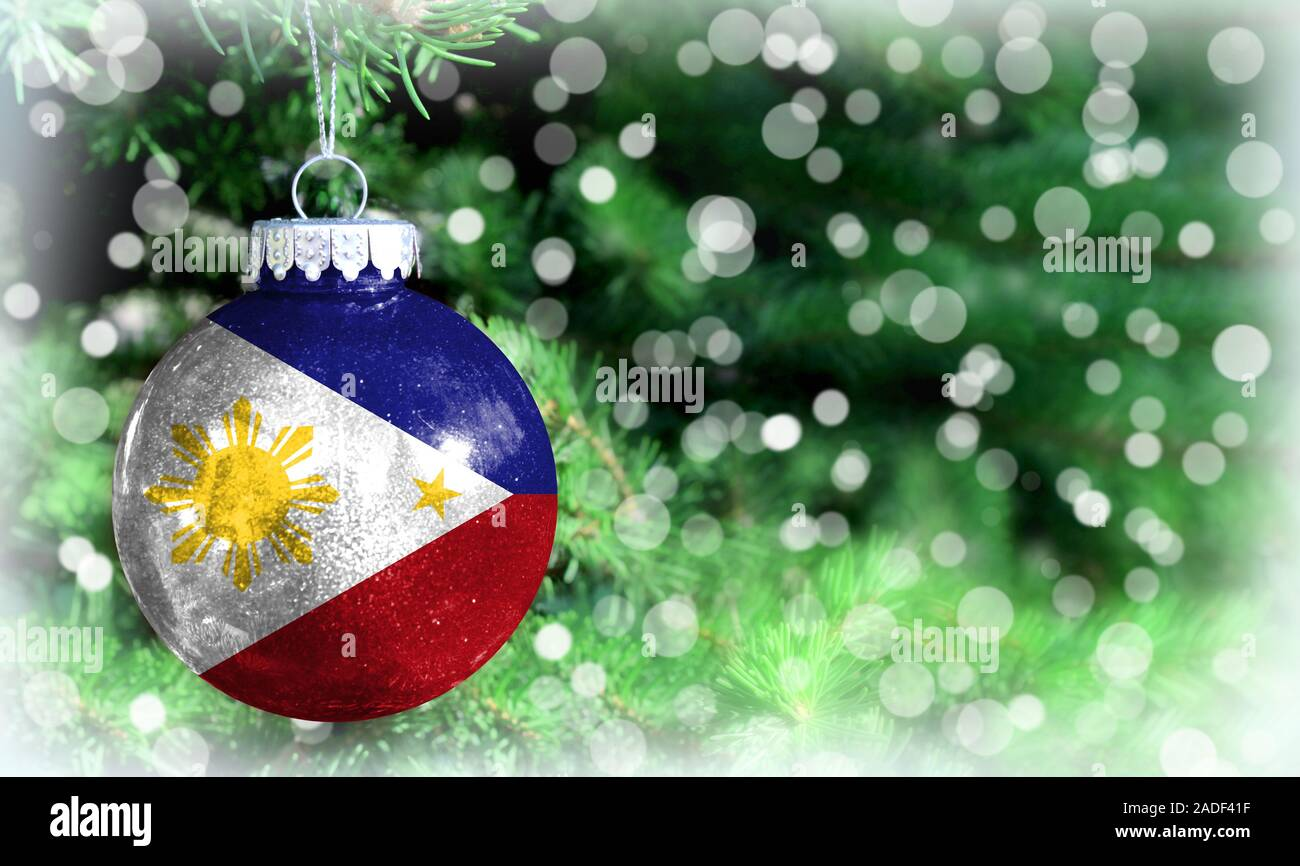 christmas and new year background with a flag of philippines stock photo alamy alamy