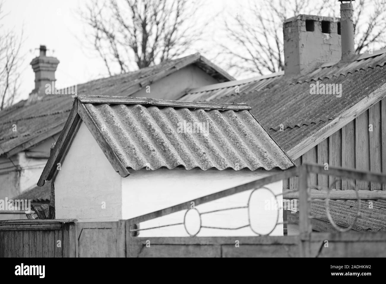 Asbestos Cement Sheet High Resolution Stock Photography And Images Alamy