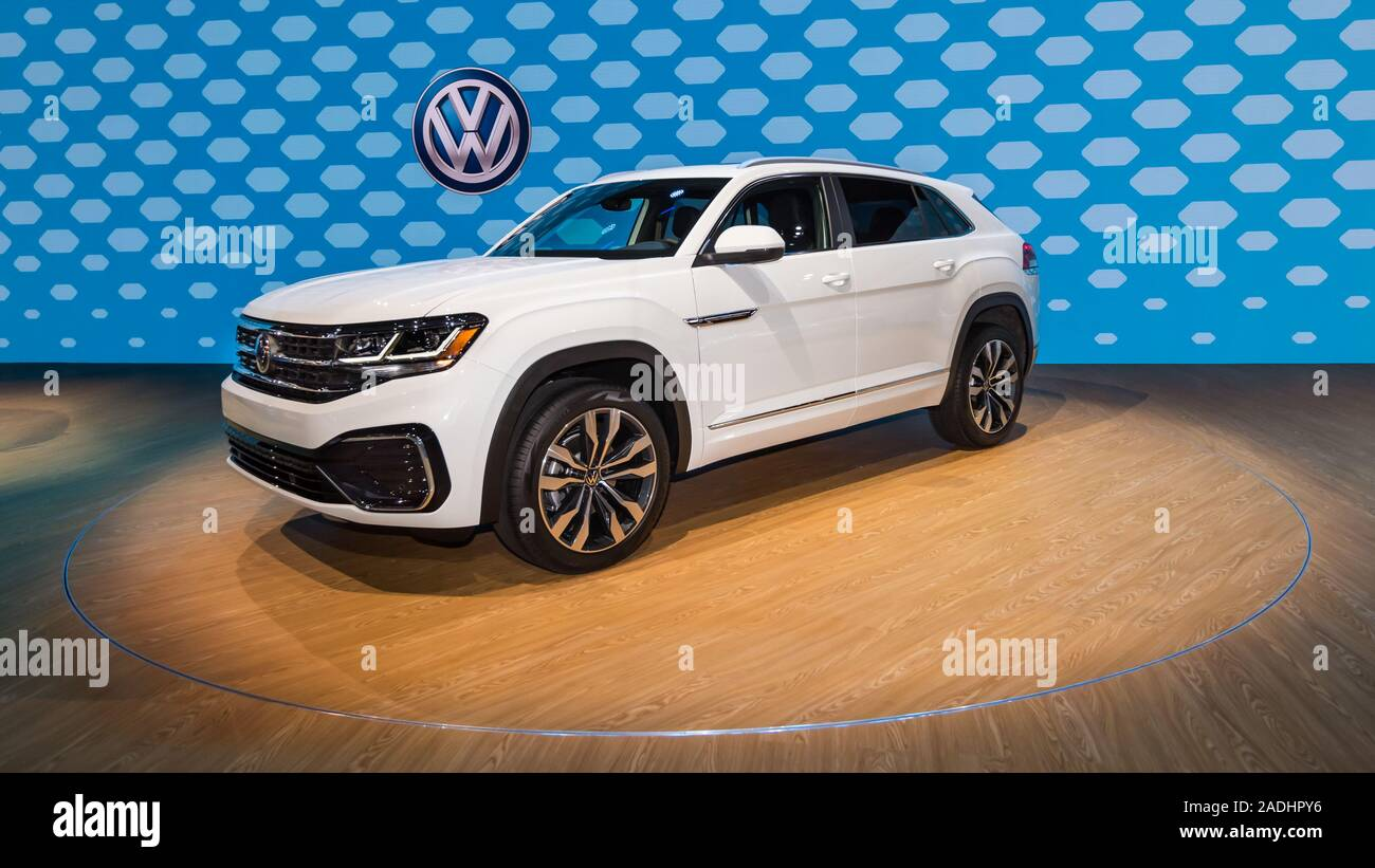 Los Angeles Ca Usa November 20 2019 A 2019 Volkswagen