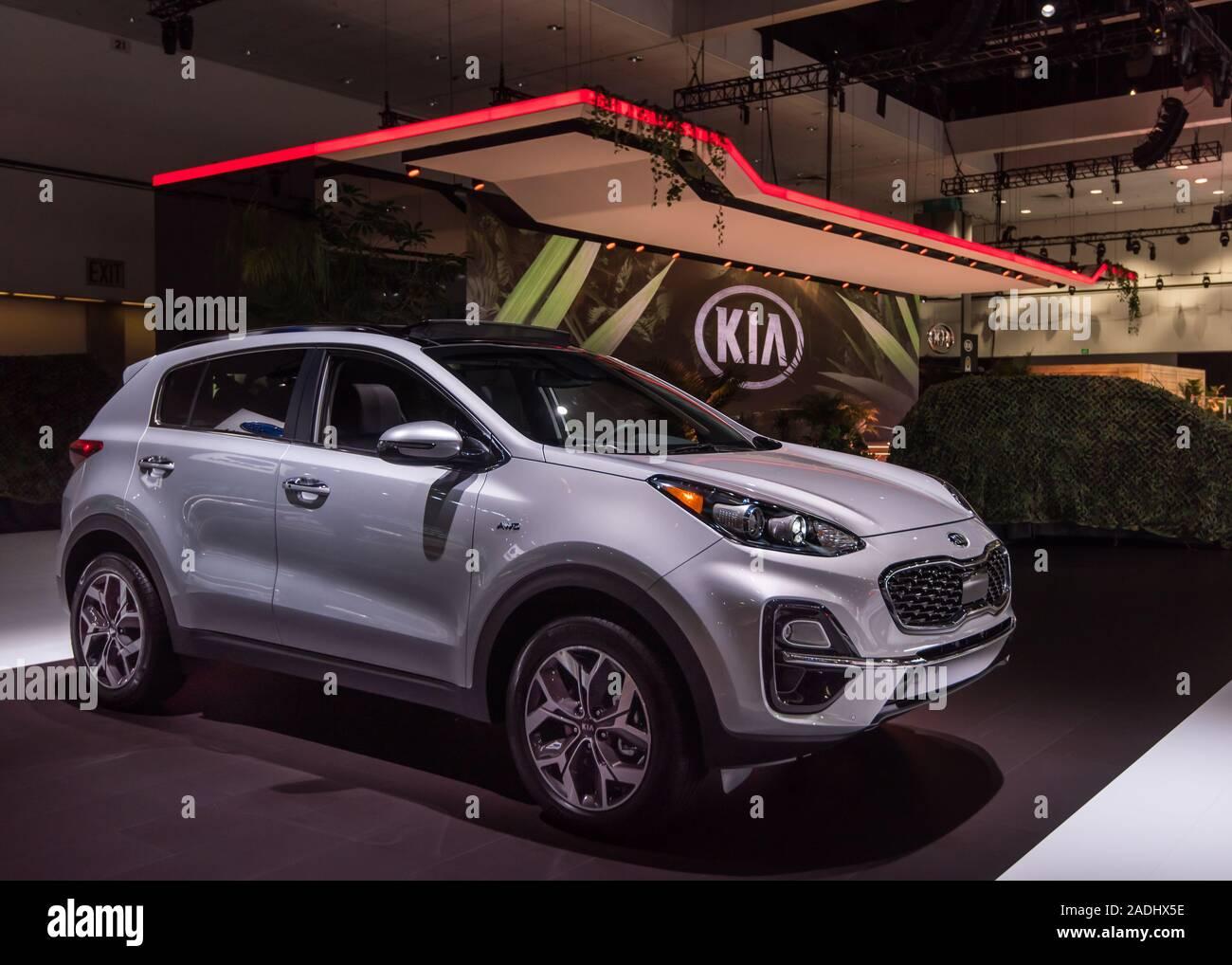 Kia Los Angeles >> Los Angeles Ca Usa November 20 2019 A Kia Sportage Suv