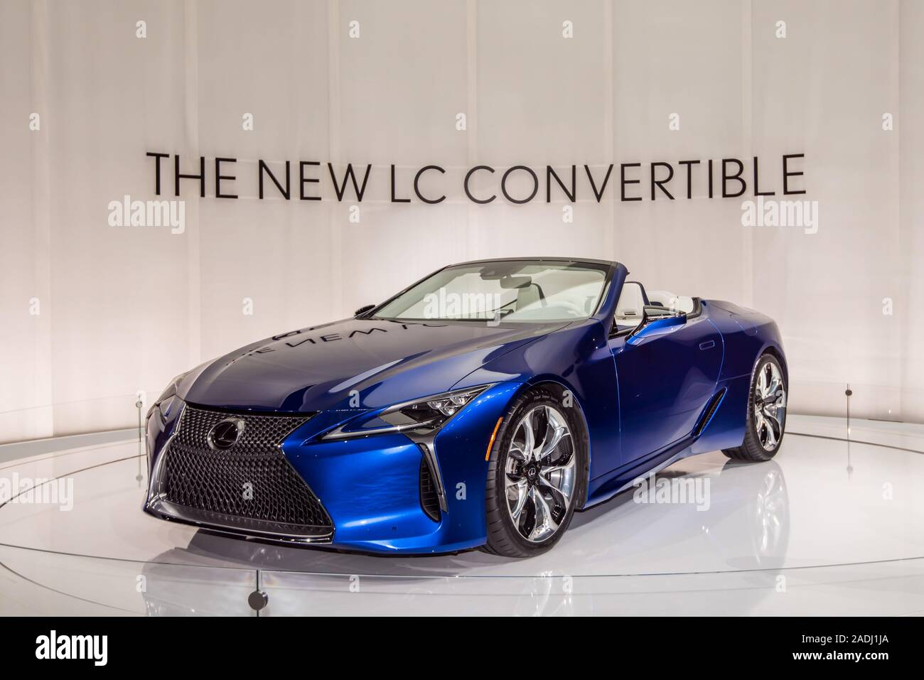 Lexus Los Angeles >> Los Angeles Ca Usa November 20 2019 A 2021 Lexus Lc 500