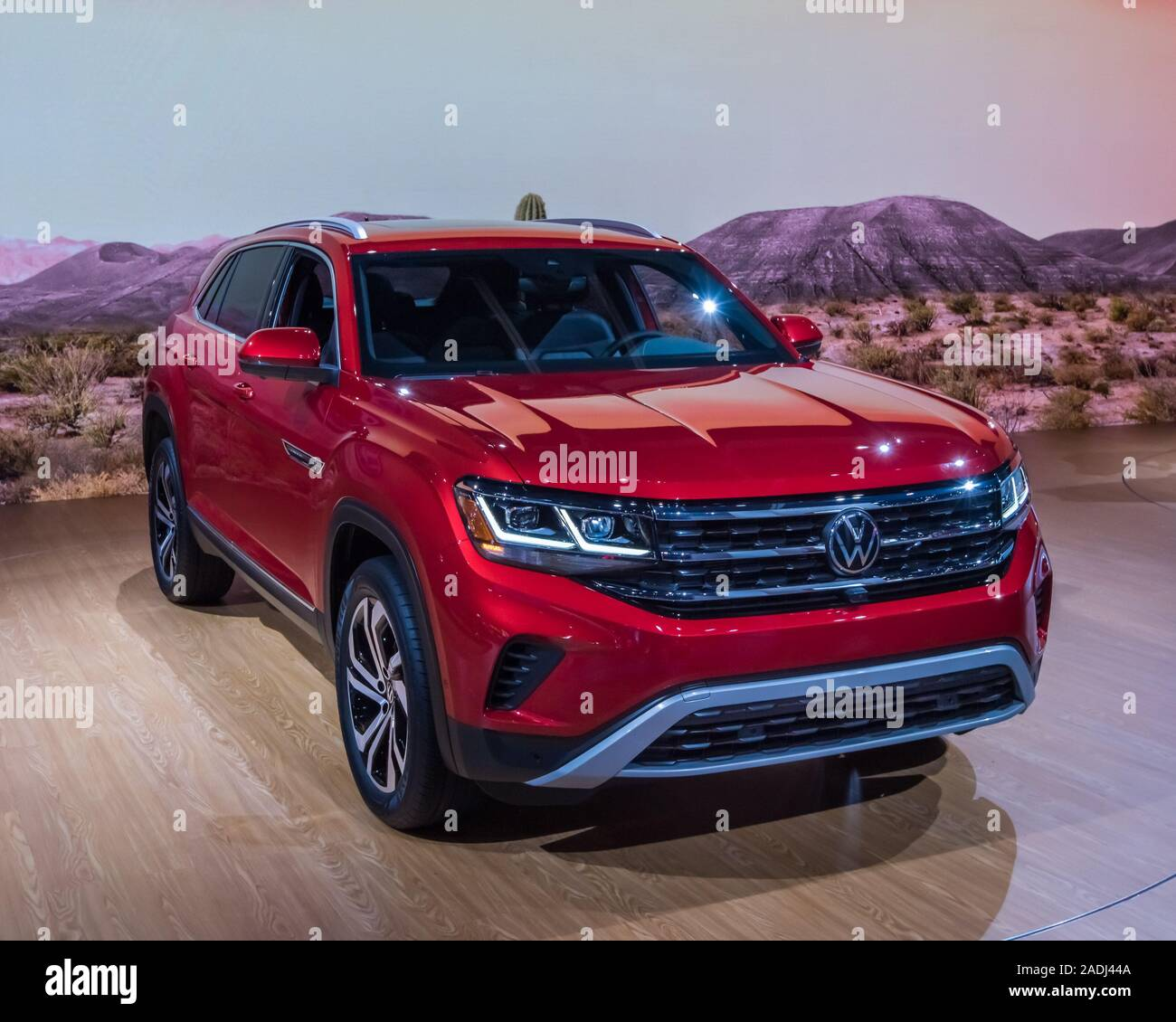 Los Angeles Ca Usa November 21 2019 A Volkswagen Atlas