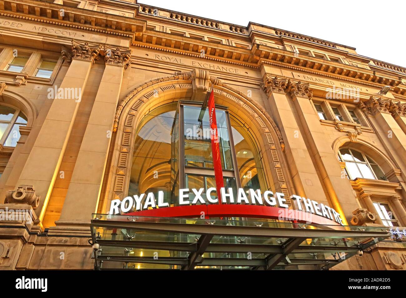 Manchester Royal Exchange Theatre, St Anns Square,Manchester,North West,England,UK, M2 Stock Photo