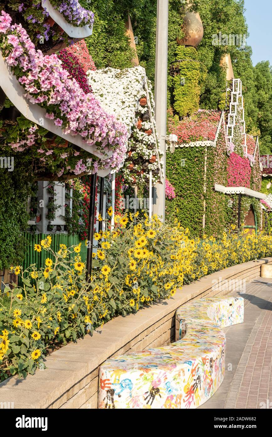 Dubai United Arab Emirates December 01 2019 Dubai Miracle Garden Located In The District Of Dubailand Is One Of A Kind In The Region And The World Stock Photo Alamy
