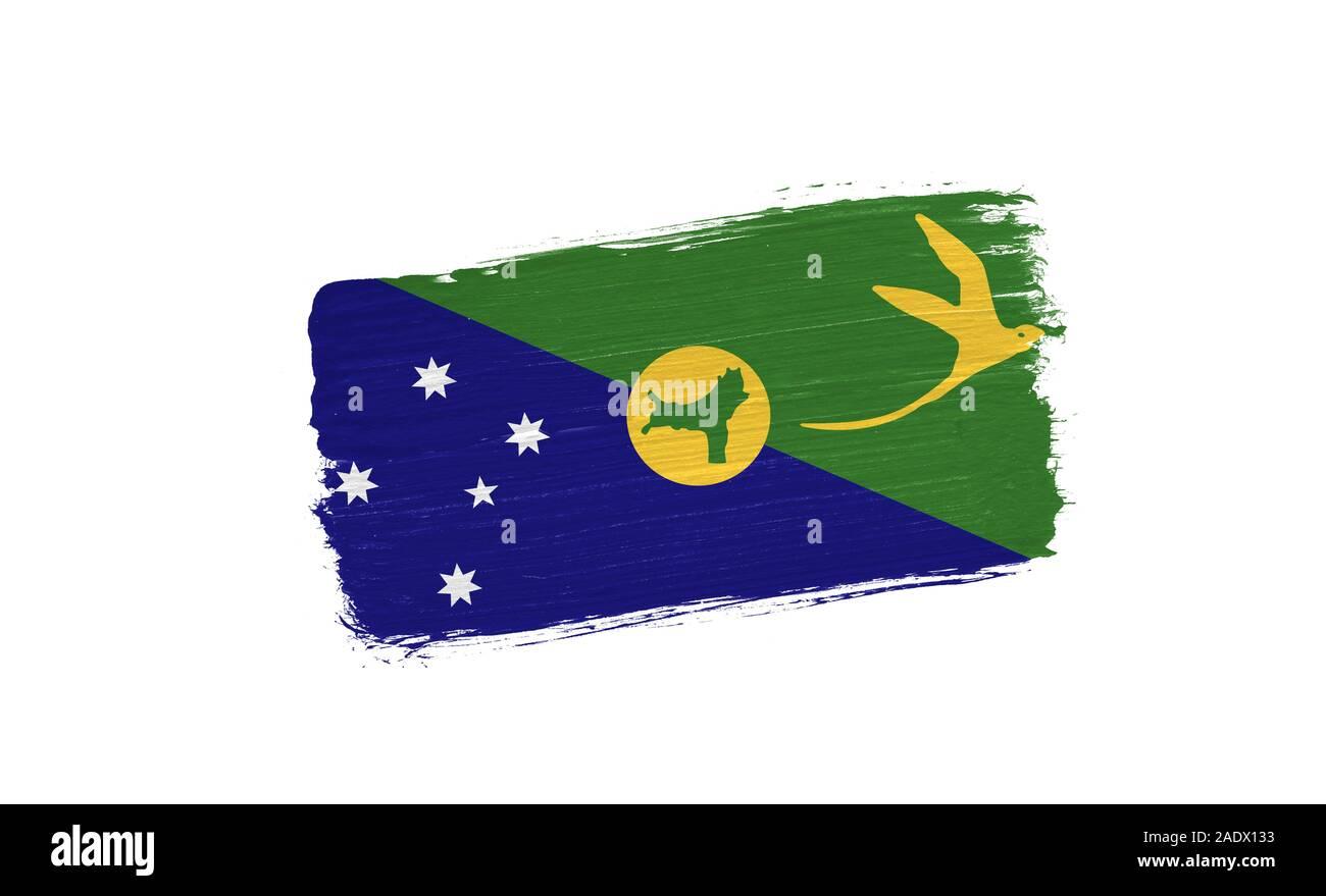 Australia Christmas Island Territory Small Hand Waving Flag