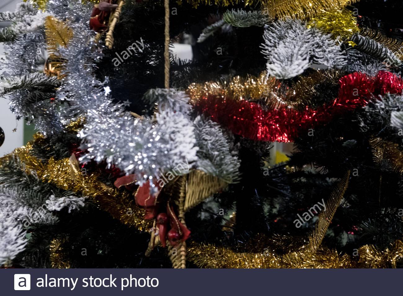 Albero Di Natale Sogno.Il Sogno Di Natale The Brand New Christmas Village In Milan Before The Opening Stock Photo Alamy