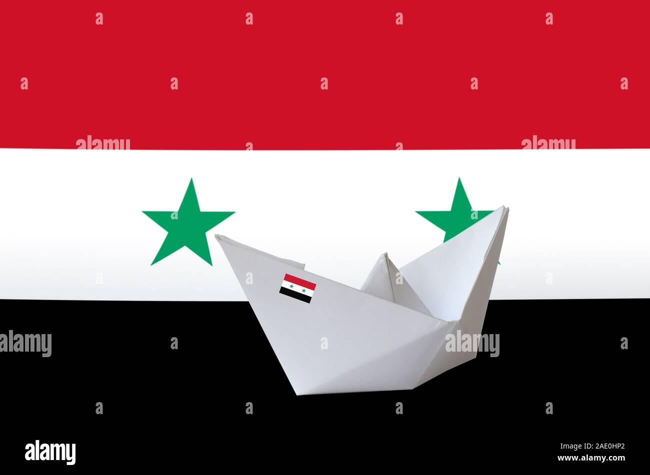 Origami ship Royalty Free Vector Image - VectorStock | 951x1300