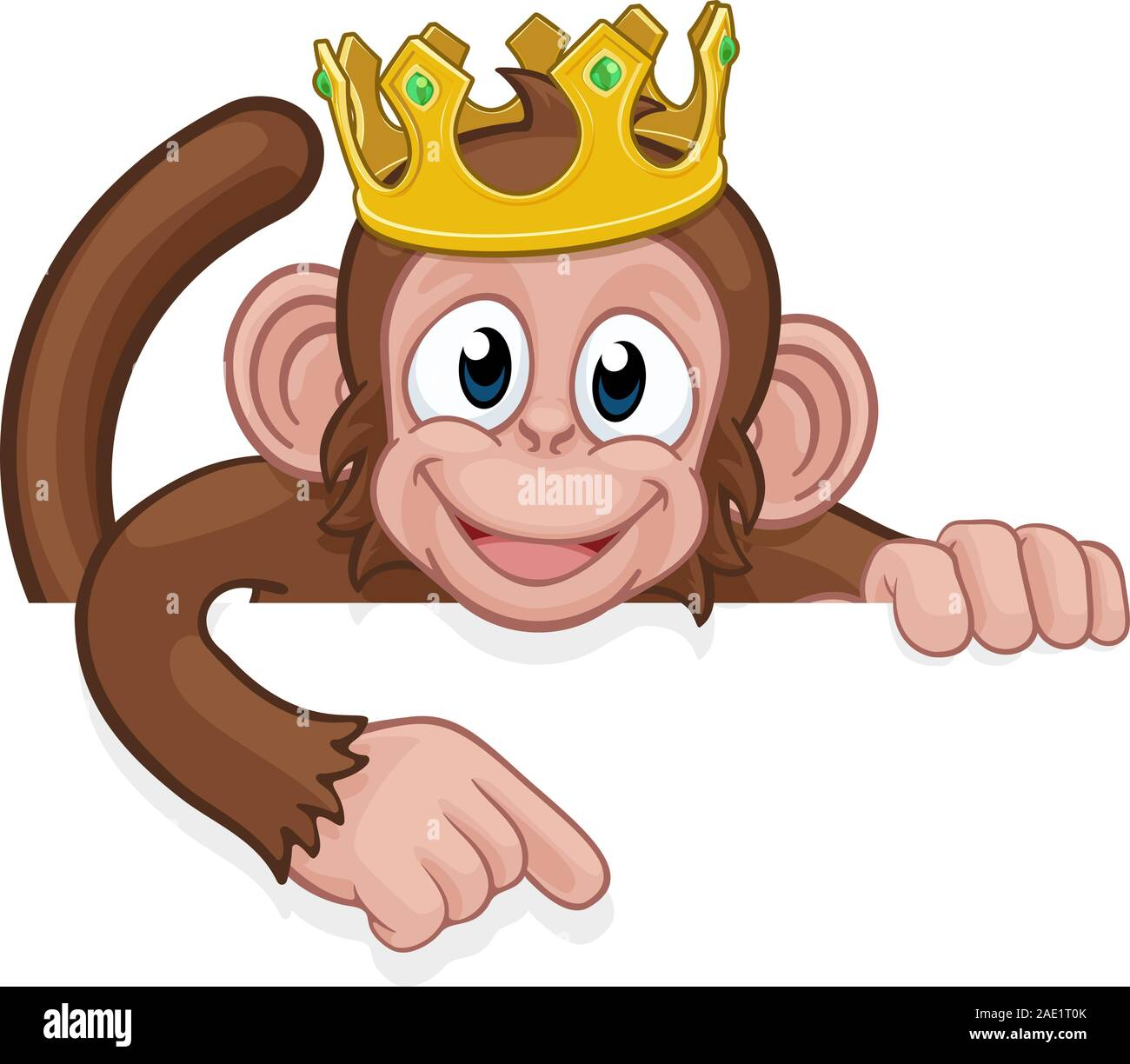 Monkey King Crown Cartoon Animal Pointing At Sign Stock Vector Image Art Alamy Black king and crown illustration, crown drawing king , crowns transparent background png clipart. https www alamy com monkey king crown cartoon animal pointing at sign image335642963 html