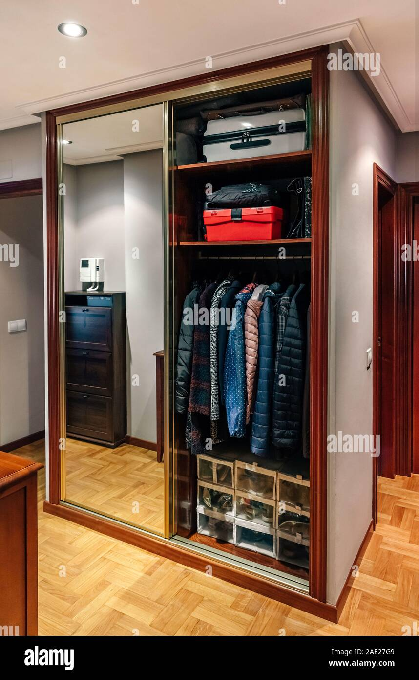 Open Wardrobe High Resolution Stock Photography And Images Alamy