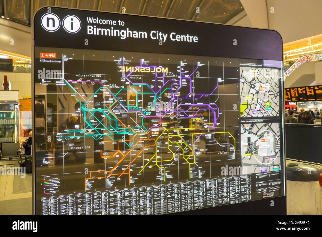 rail,map,New Street,train station,transport,transportation ...