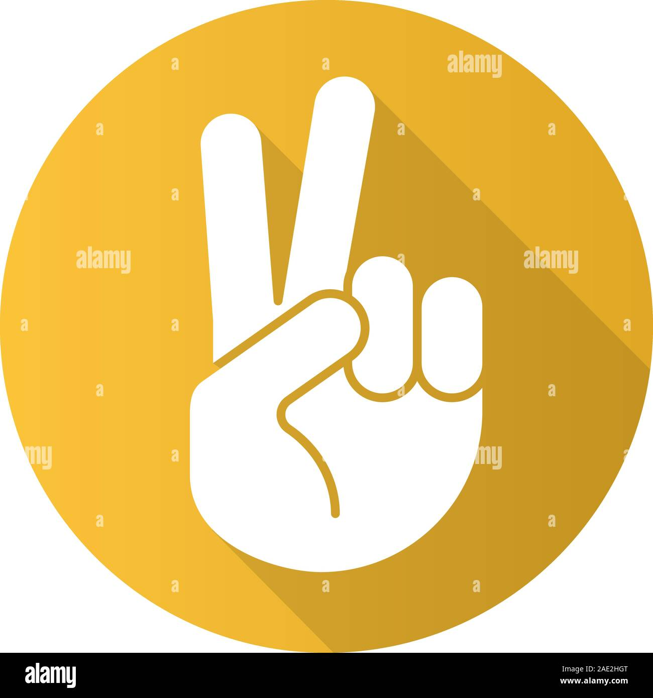 peace hand gesture flat design long shadow icon two fingers up vector silhouette symbol stock vector image art alamy https www alamy com peace hand gesture flat design long shadow icon two fingers up vector silhouette symbol image335659880 html