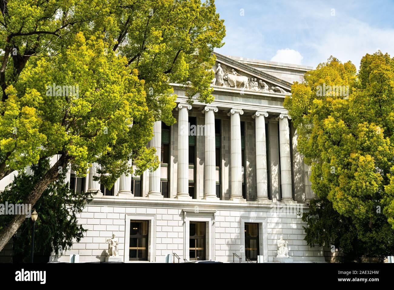 California State Office Building in Sacramento Stock Photo