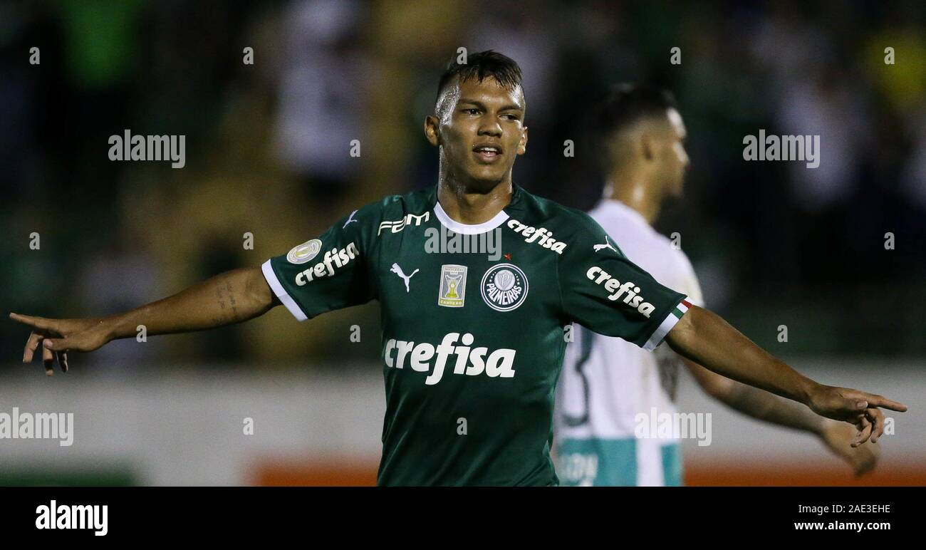 Campinas, Brazil. 05th Dec, 2019. seventh round of the Brazilian Championship, Serie A, at the Princess Earring Golden Stadium. Credit: Cesar Greco/FotoArena/Alamy Live News Stock Photo