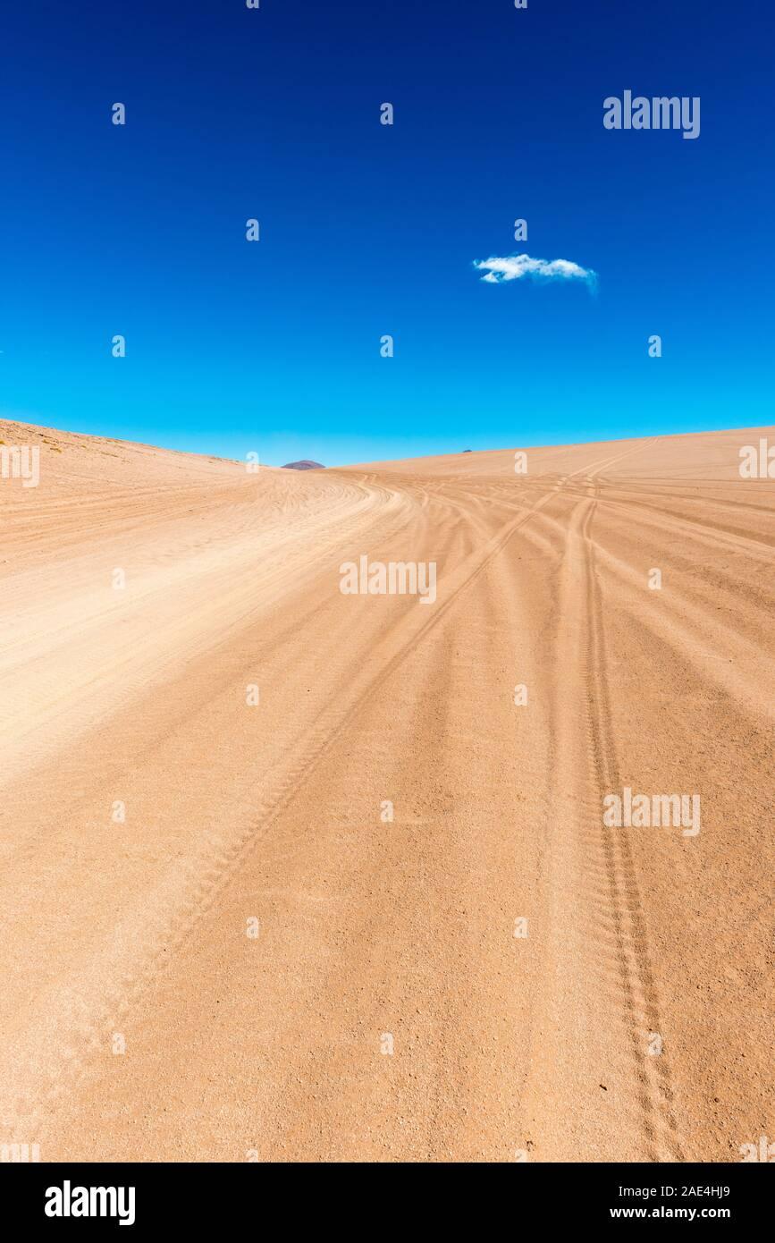 Desierto de Sololi, Sololi Dersert, Southern Altiplano, Southwest Bolivia, Latin America, Stock Photo