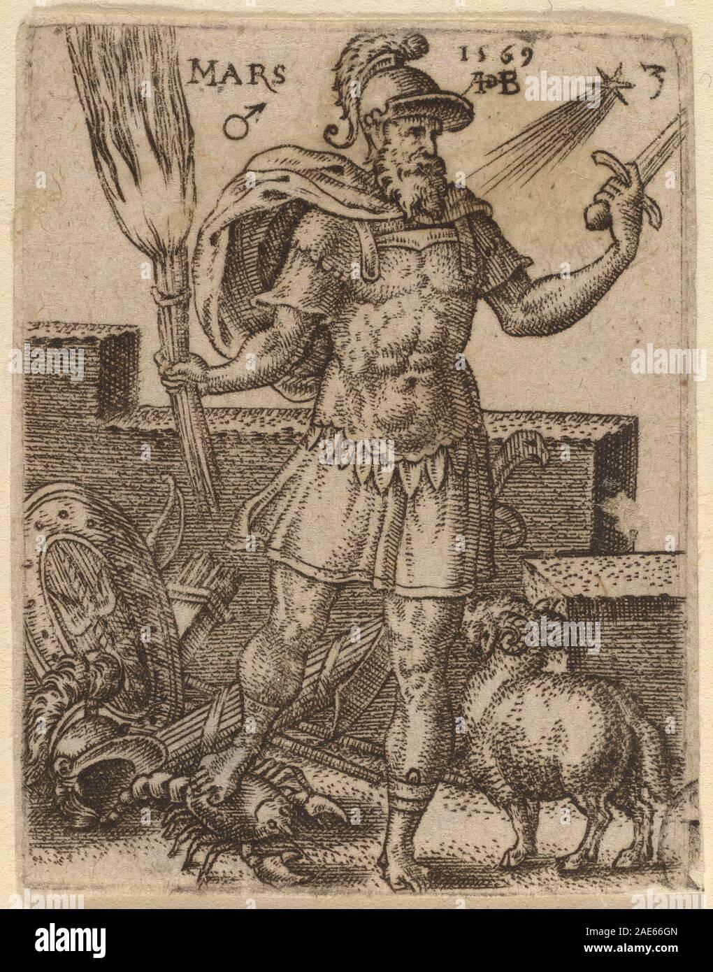 Mars; 1569date Abraham de Bruyn, Mars, 1569 Stock Photo