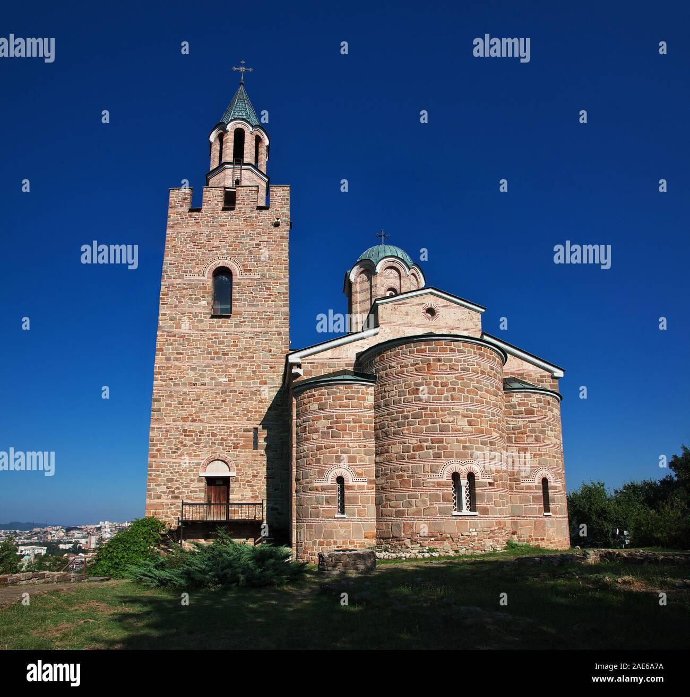The church in the fortress in Veliko Tarnovo, Bulgaria Stock Photo