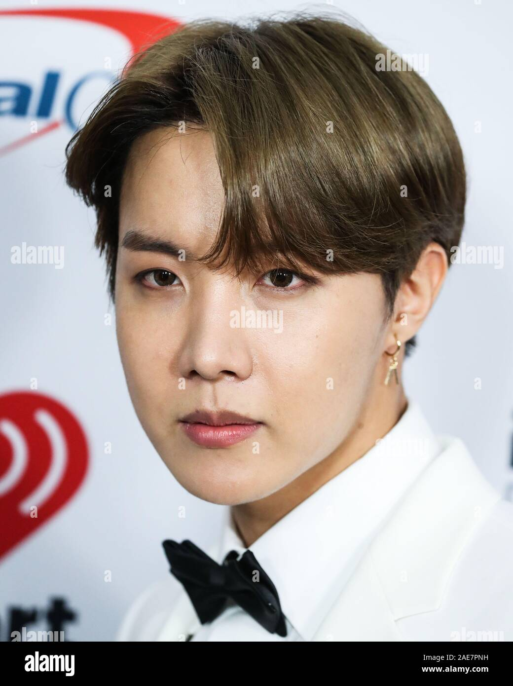 inglewood los angeles california usa december 06 jungkook jeon jung kook of bts arrives at 1027 kiis fms jingle ball 2019 held at the forum on december 6 2019 in inglewood los angeles california united states photo by xavier collinimage press agency 2AE7PNH