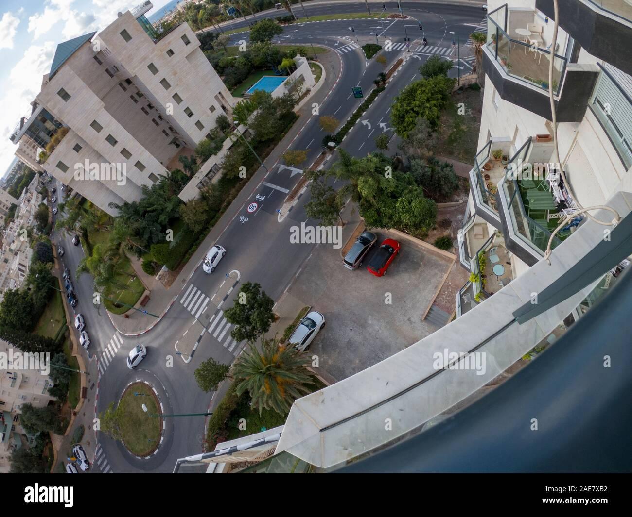 Tel Aviv,  city from above Stock Photo