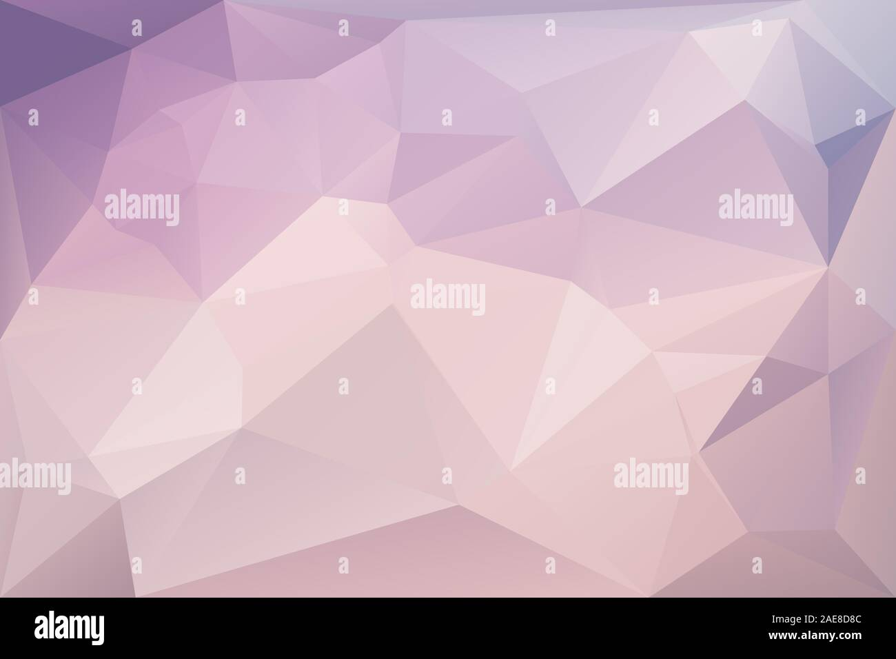 Abstract geometric background with triangles. Vector polygonal texture background. Pink and purple abstract business background. EPS10 Stock Vector