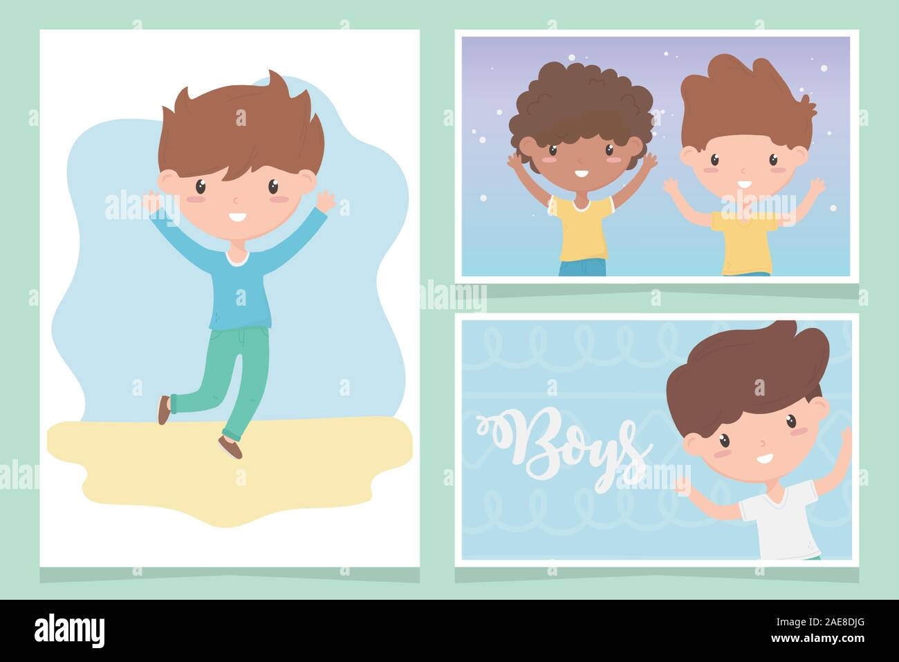 Funny Cartoon Images Of Boys happy childrens day, cute little boys cartoon funny cards