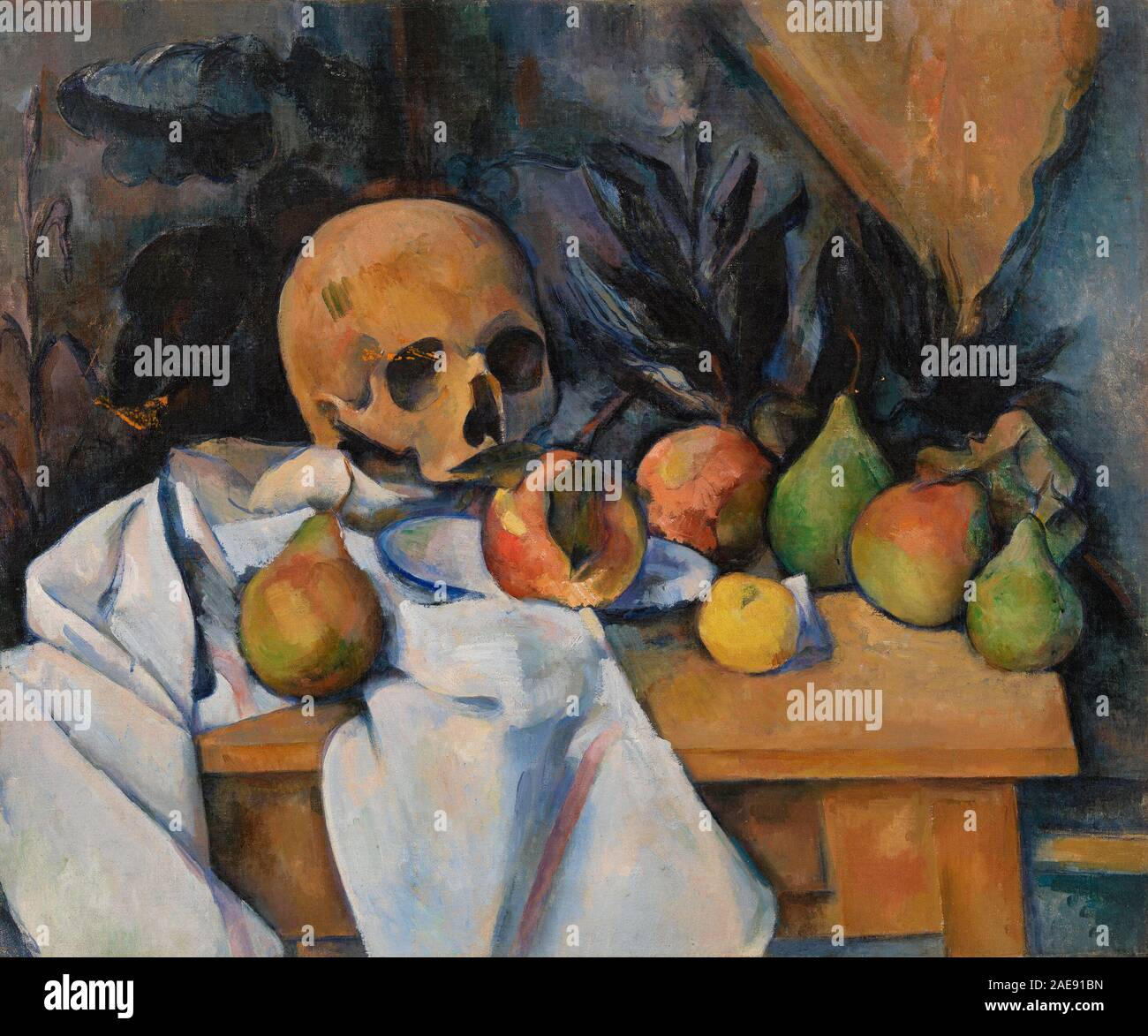 Still Life with Skull (Nature morte au crâne) 1896-1898 Stock Photo