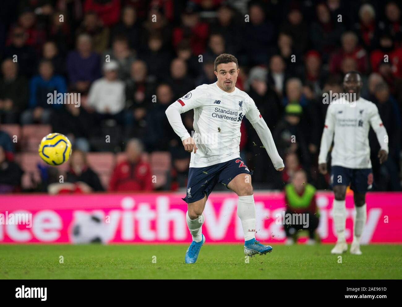 Bournemouth Uk 07th Dec 2019 Xherdan Shaqiri Of Liverpool During The Premier League Match Between Bournemouth And Liverpool At The Goldsands Stadium Bournemouth England On 7 December 2019 Photo By Andy Rowland