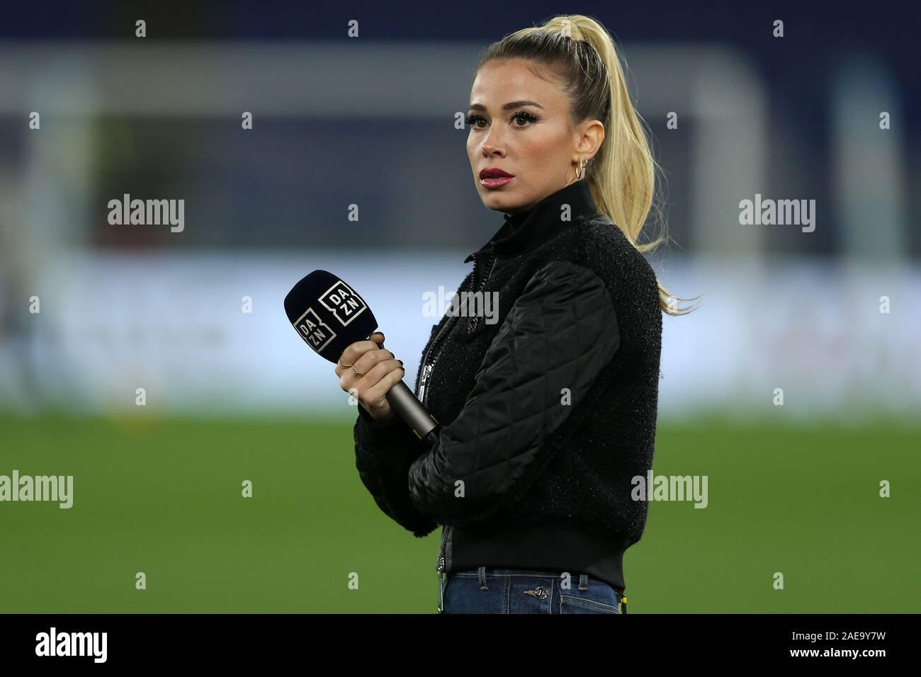 Rome Italy 07th Dec 2019 Tv Presenter Diletta Leotta During The Serie A Tim Match Between