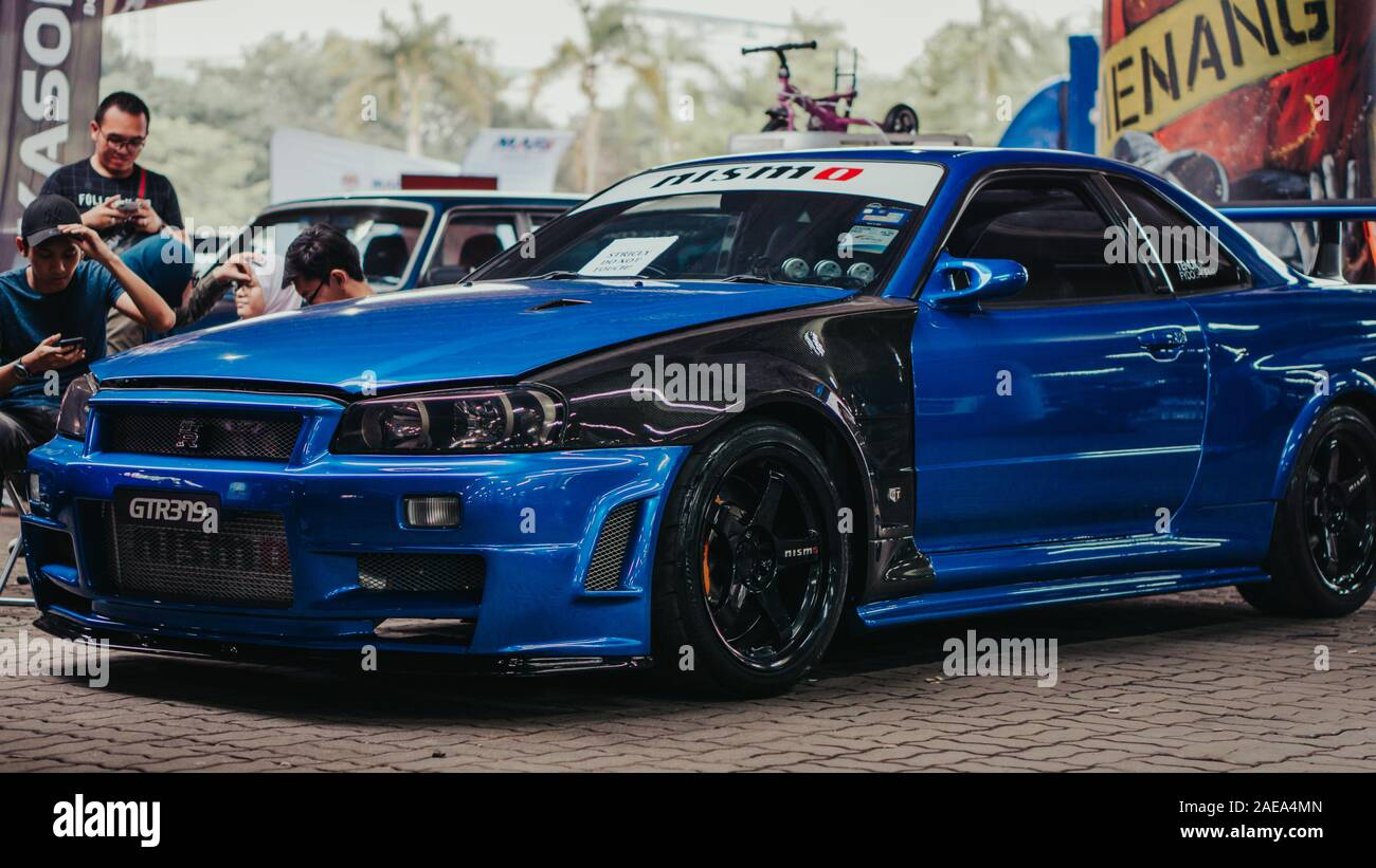 Nissan Skyline Gtr R34 High Resolution Stock Photography And Images Alamy
