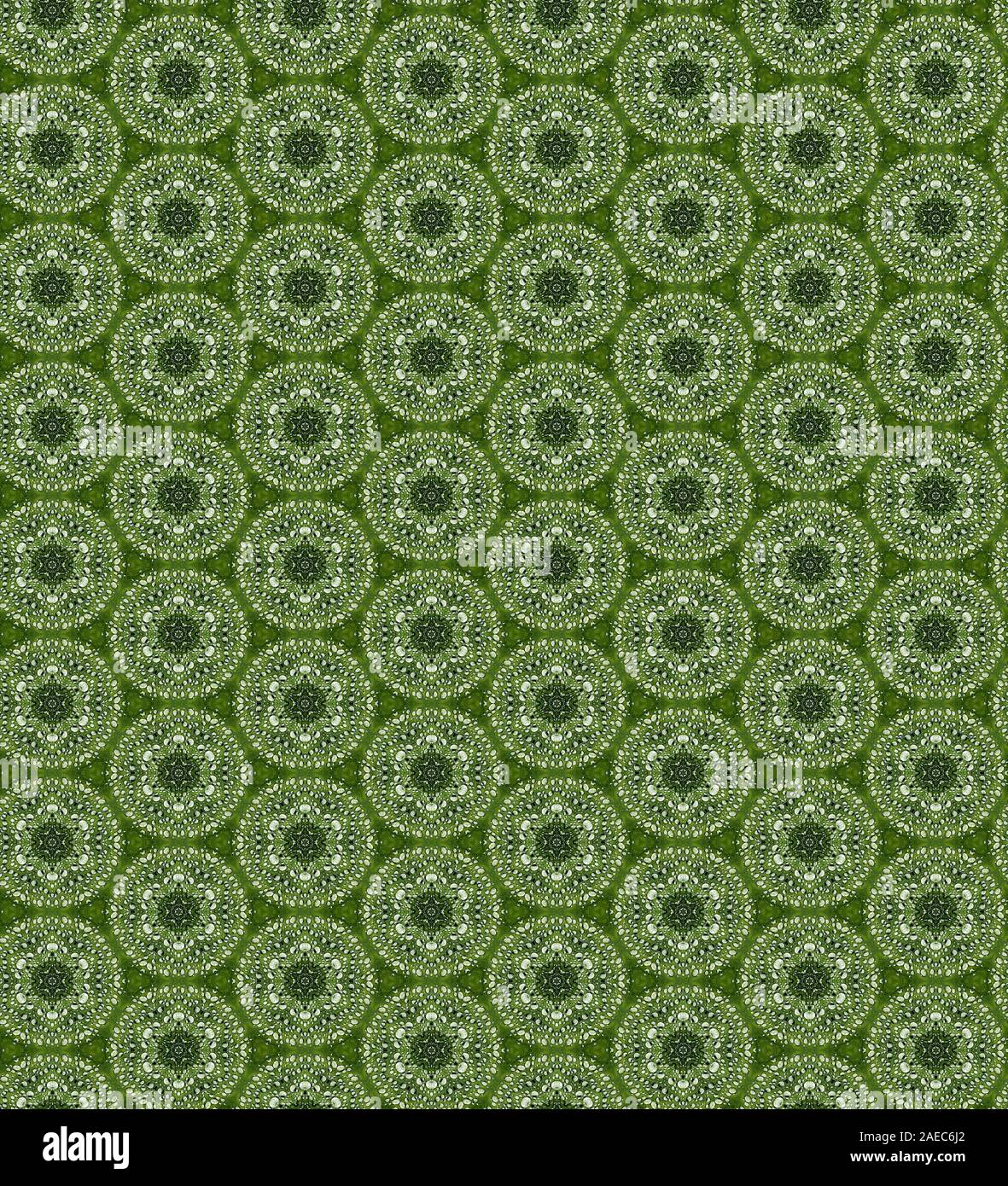 Seamles repeating pattern - Computer Graphic Illustration Stock Photo