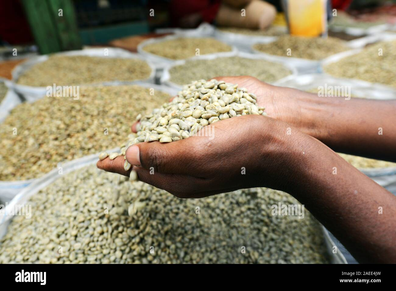 Coffee Beans On Sale High Resolution Stock Photography And Images