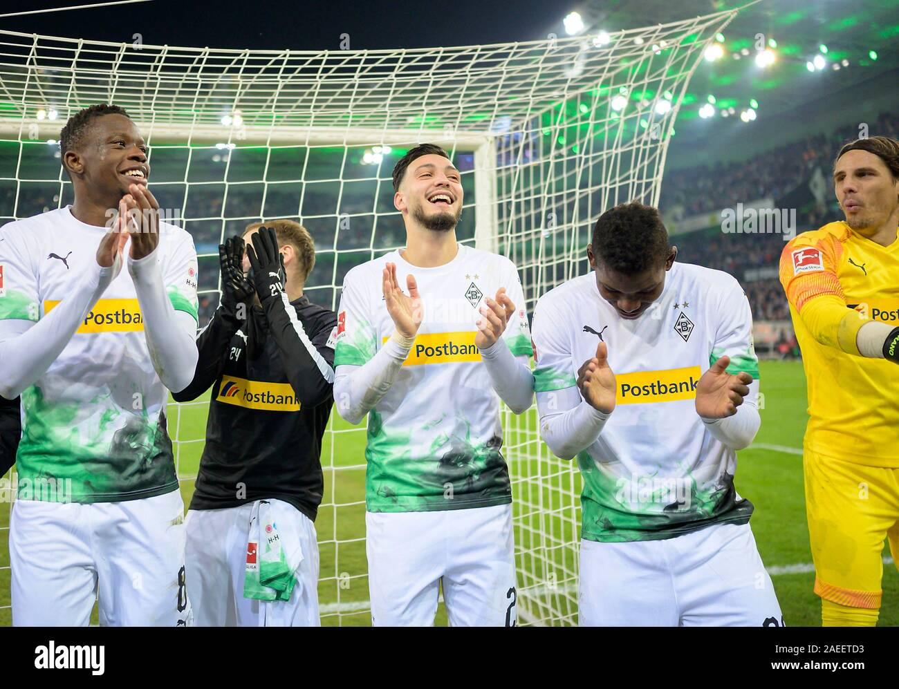 Denis Zakaria Mg Tony Jantschke Mg Ramy Bensebaini Mg Breel Embolo Mg Goalkeeper Yann Sommer Mg Football 1 Bundesliga 14 Matchday Borussia Monchengladbach Mg Fc Bayern Munich M 2 1 On