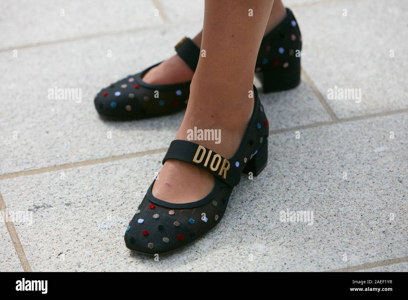 Dior Shoes High Resolution Stock