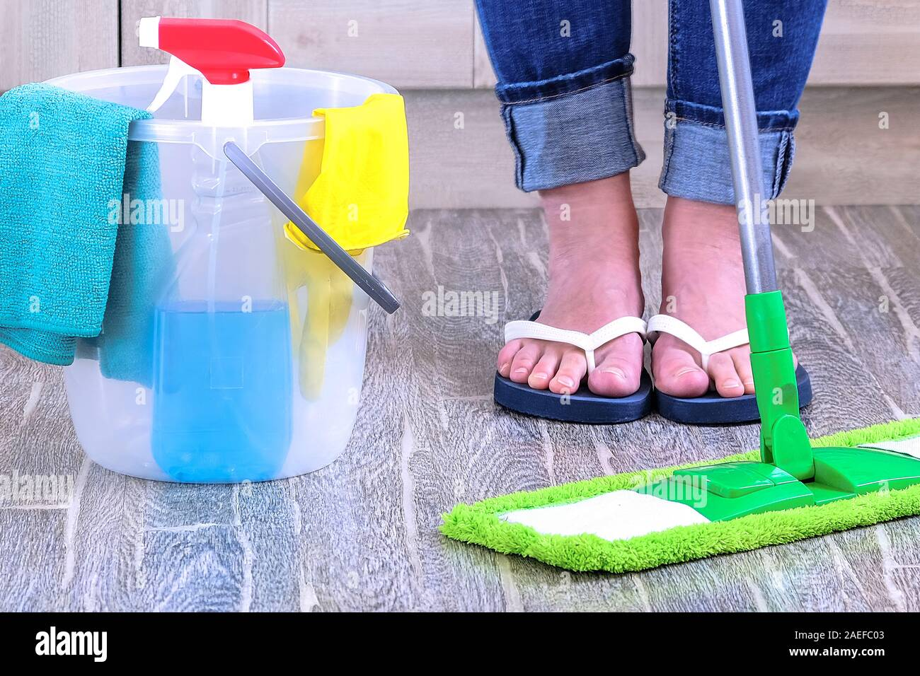 Cleaning of premises. Housework. Interior apartment. Hotel ...