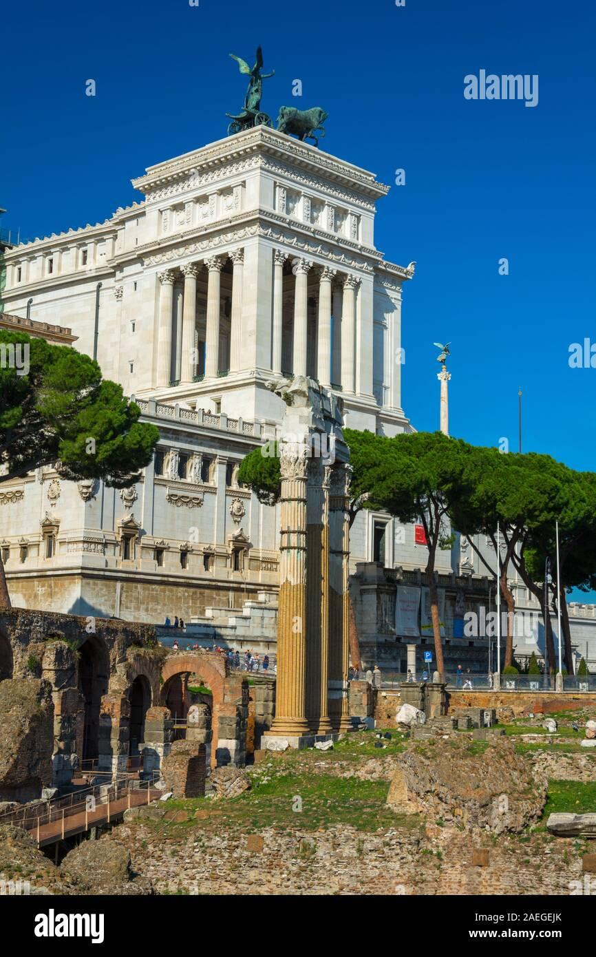 Rome Italy Oct 03 2018 Tempio Di Venere Genitrice And