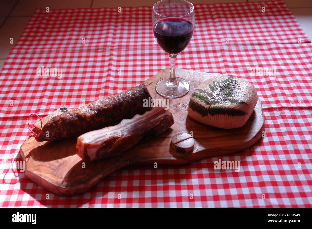 Corsican Sausage High Resolution Stock Photography And Images Alamy