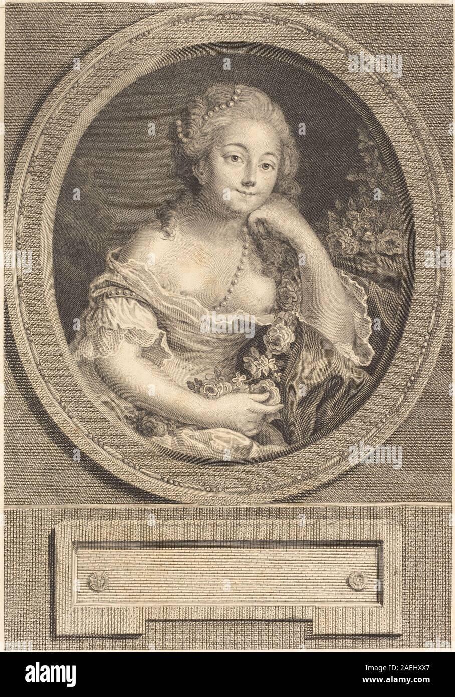 Juste Chevillet after Pierre-Antoine Baudouin, Le leger vetement, 1779 Le leger vetement; 1779date Stock Photo