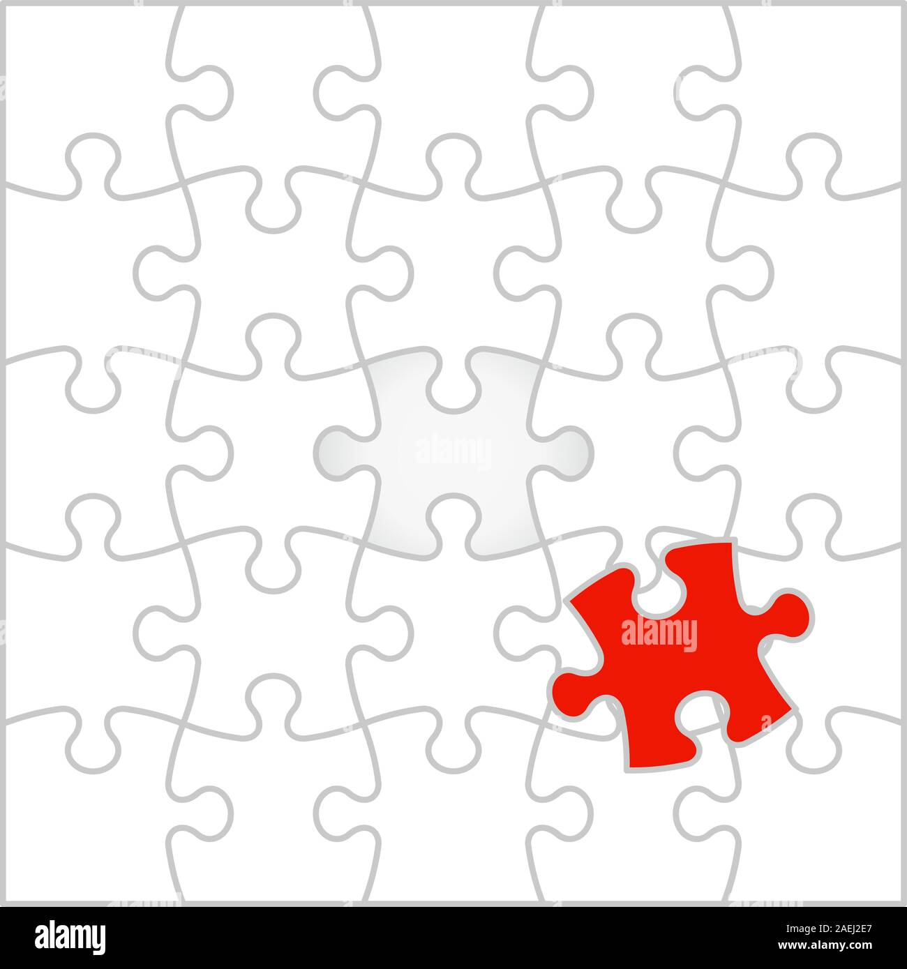 Background Vector Illustration jigsaw puzzle Stock Vector