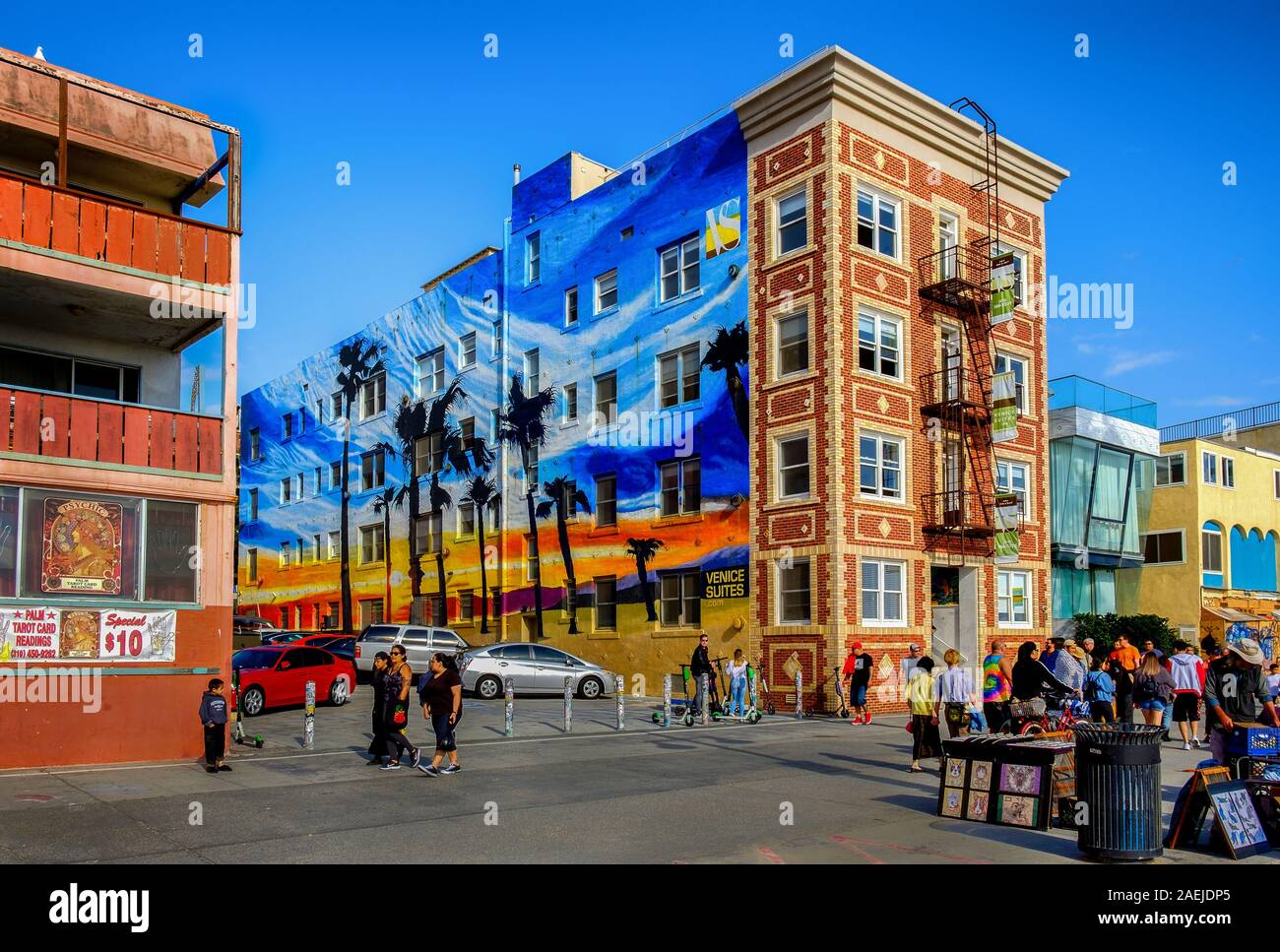 Los Angeles California March 2019 Urban Scene In Front Of