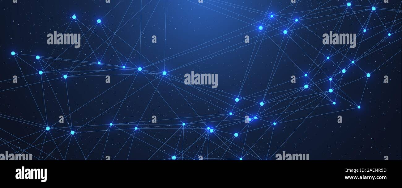 Abstract Plexus Background With Connected Lines And Dots Plexus Geometric Effect Digital Data Visualization Futuristic Technology Style Low Poly Stock Vector Image Art Alamy
