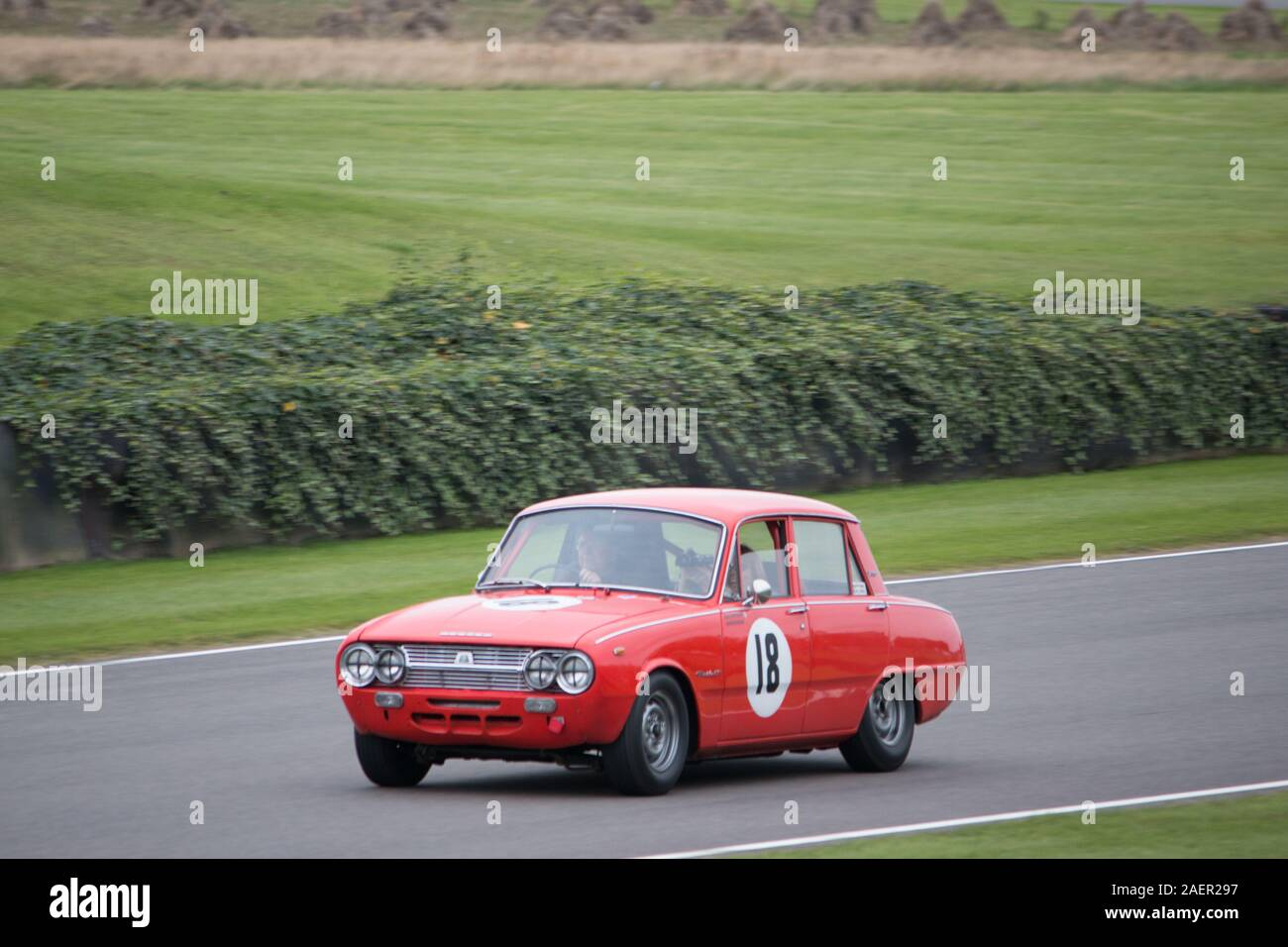 Goodwood Motor racing Chichester West Sussex Stock Photo