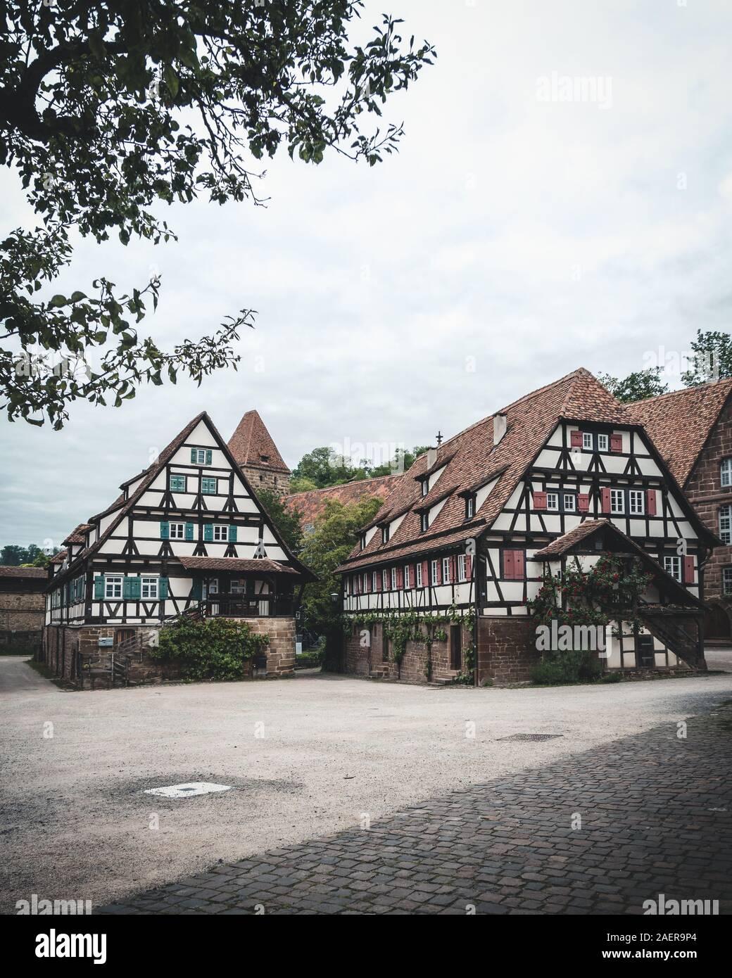 Weltkulturerbe Kloster Maulbronn im Naturpark Stromberg Heuchelberg Stock Photo