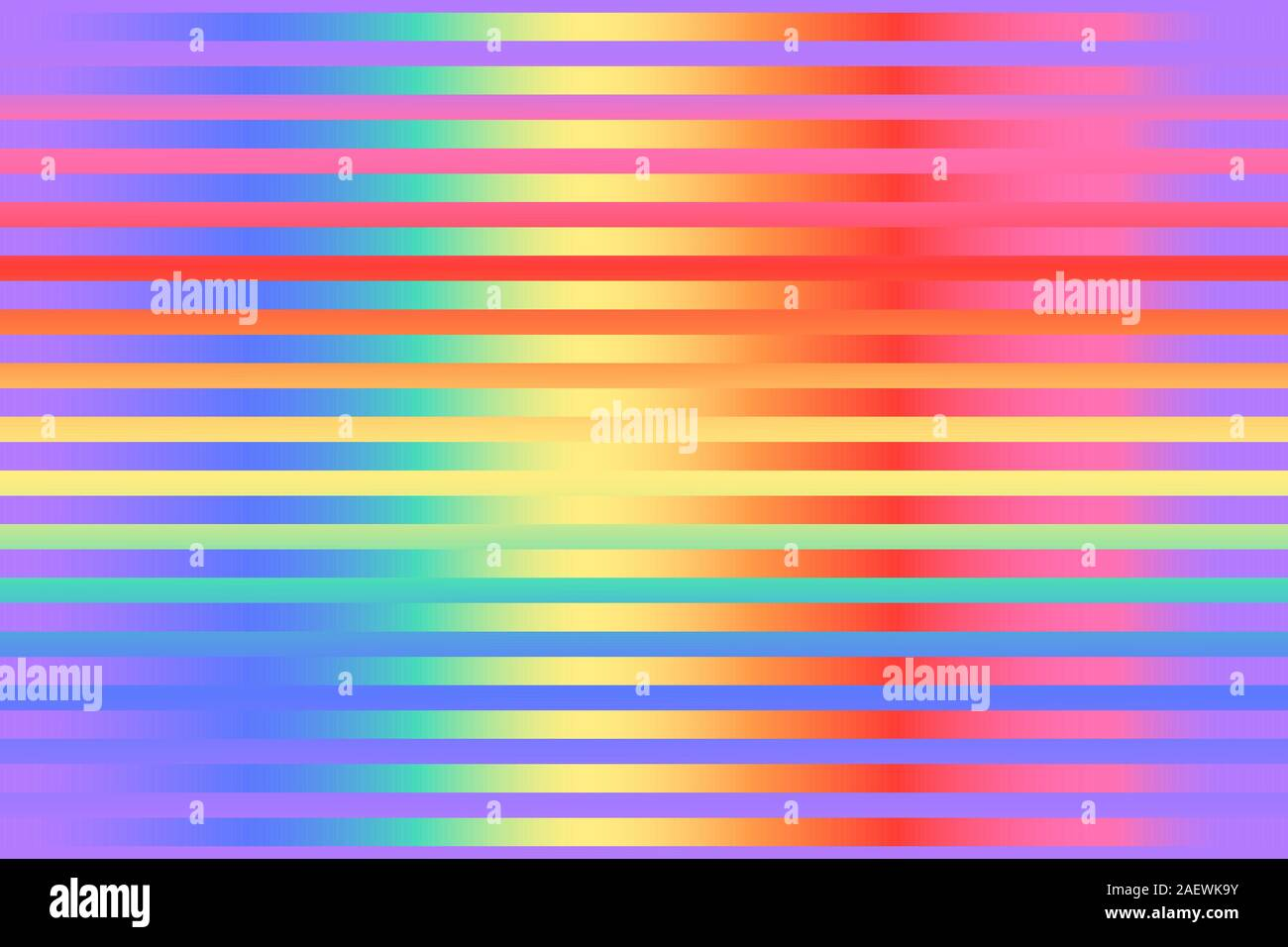 Wild Bright gradient striped seamless pattern. Vector stock repeating background. Bright colors of the rainbow. Modern surface design Stock Vector