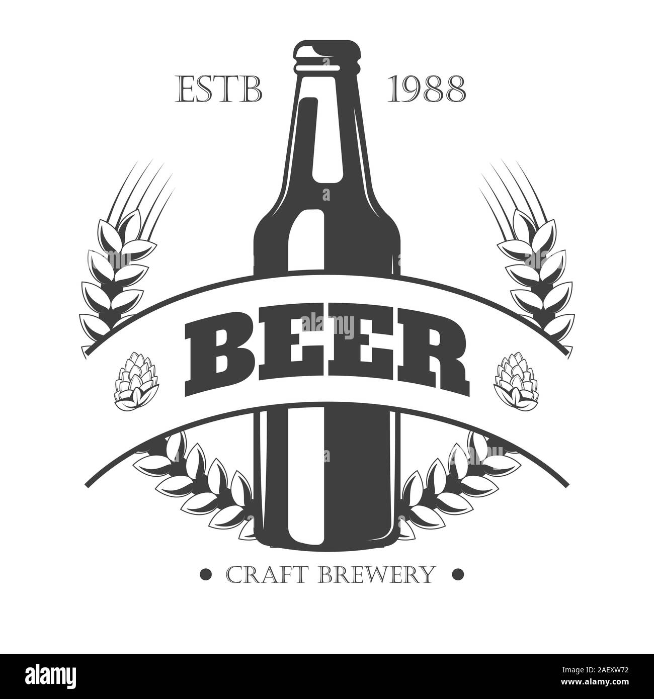 Beer Logo High Resolution Stock Photography And Images Alamy