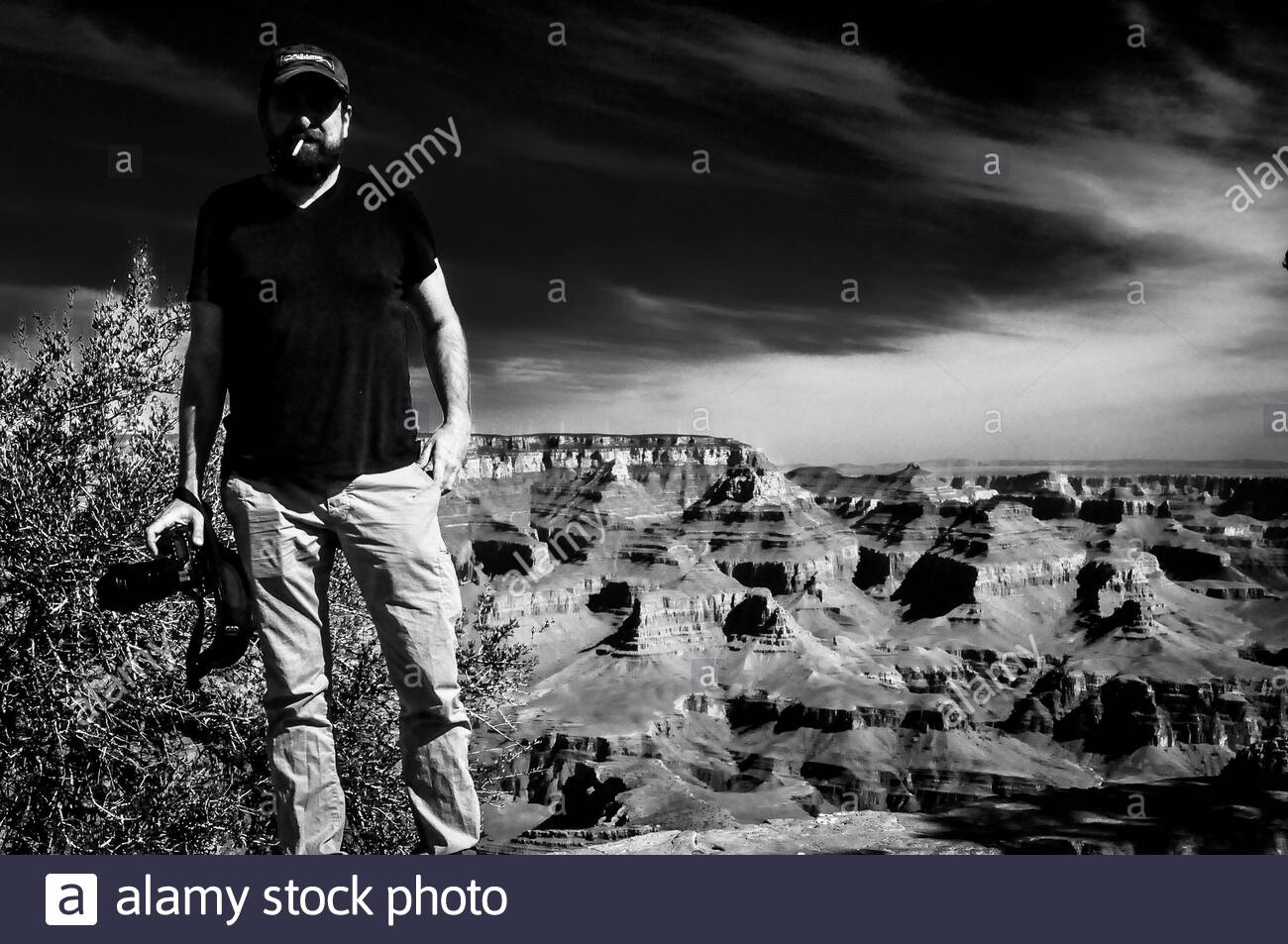 Grand Canyon at Sunset, Grand Canyon National Park, Arizona Stock Photo