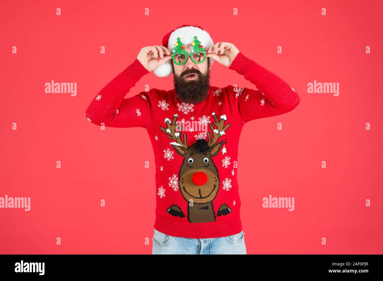 2020 Christmas Funnies Awesome Christmas. knitwear fashion. winter holiday celebration