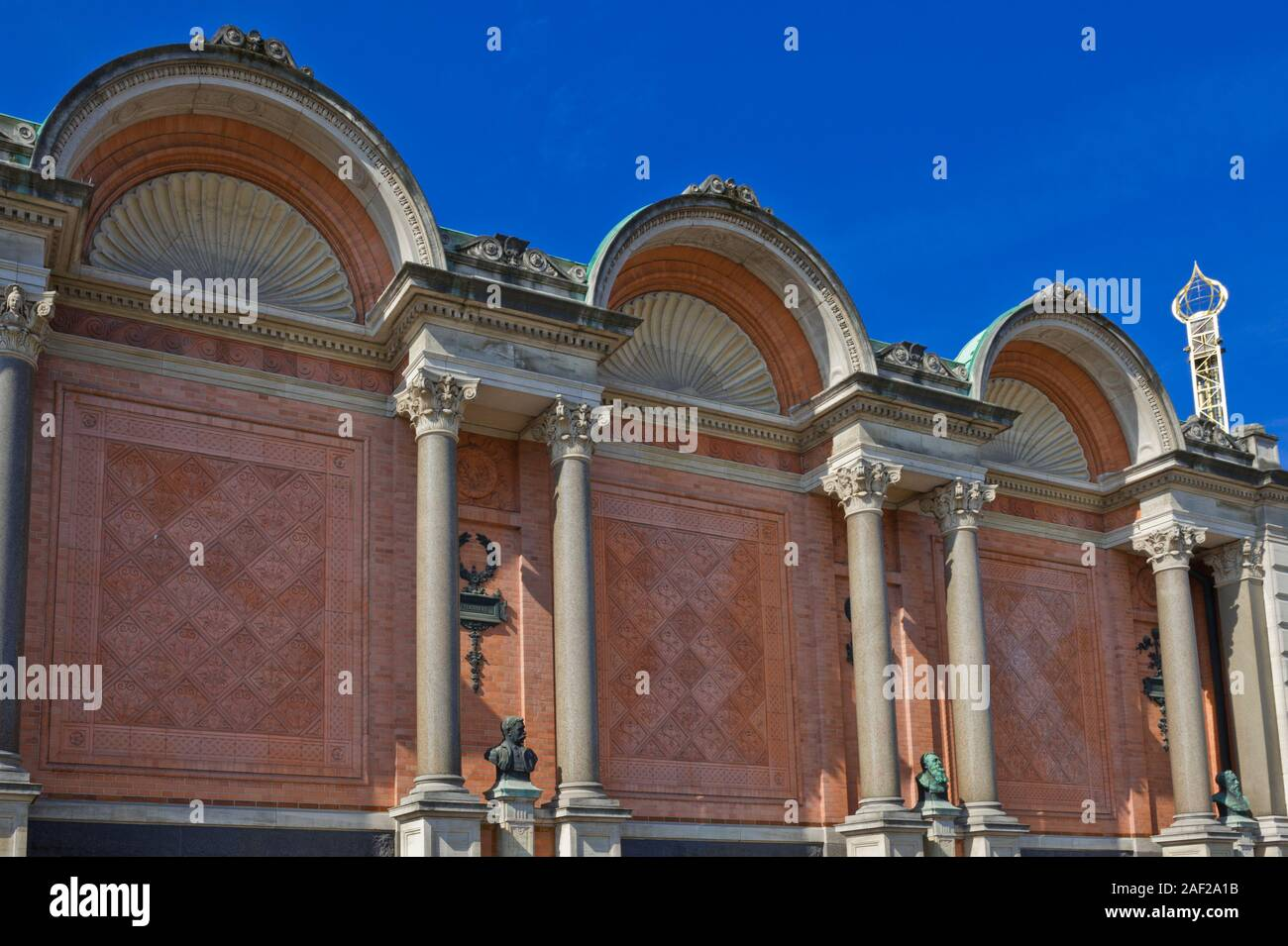 Ny Carlsberg Glyptotek, art museum in Copenhagen, Denmark Stock Photo
